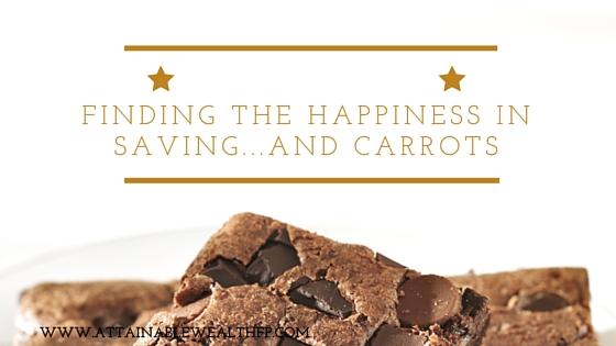 Savings and happiness