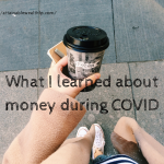 covid money lessons